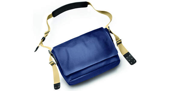 Brooks Barbican Shoulder Bag Canvas dark blue / black
